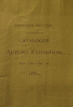 THUMBNAIL 1886, November 17-December 1, Catalogue Autumn Exhibition