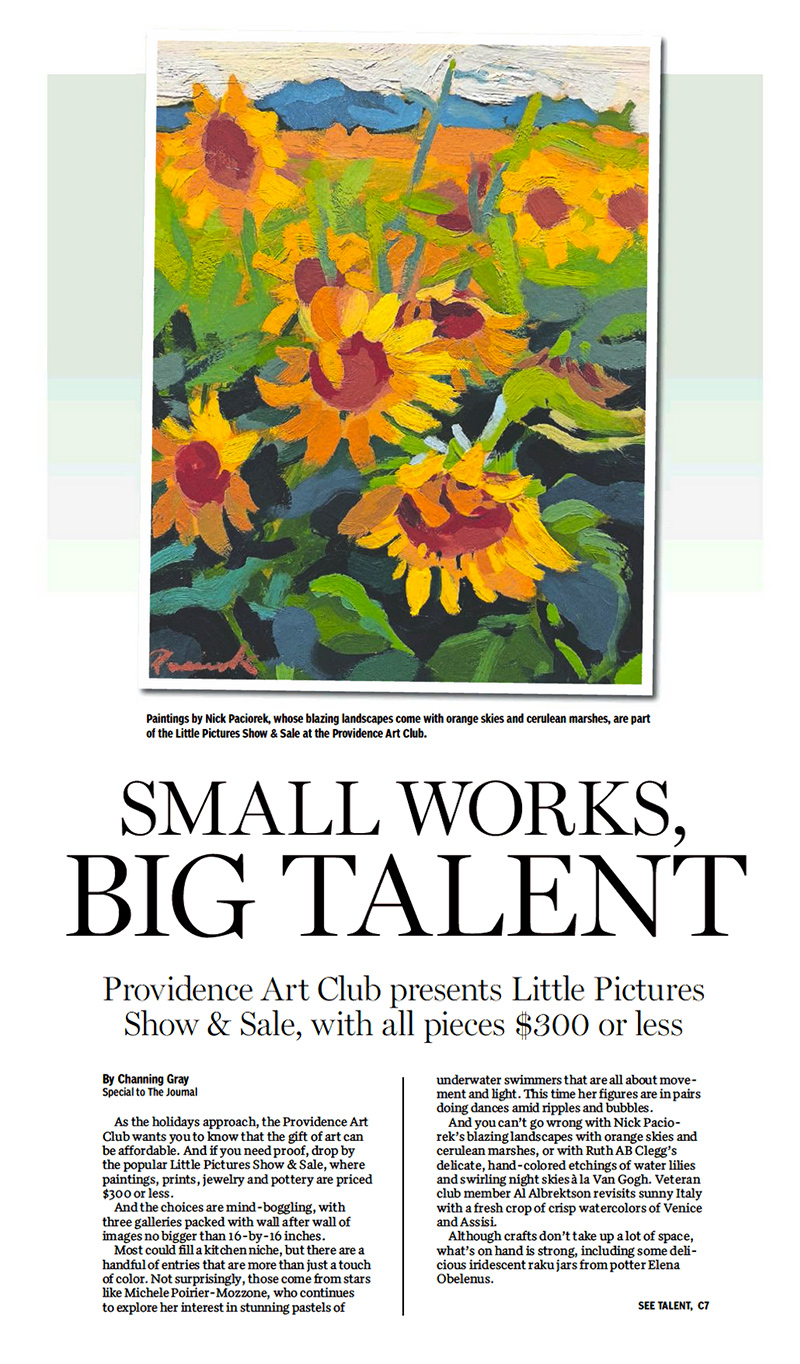 Providence Journal Review of Little Pictures 2018