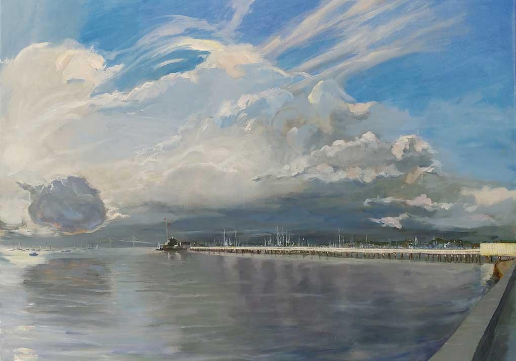 Rick Grovsvenor - Ida Lewis Passing Storm