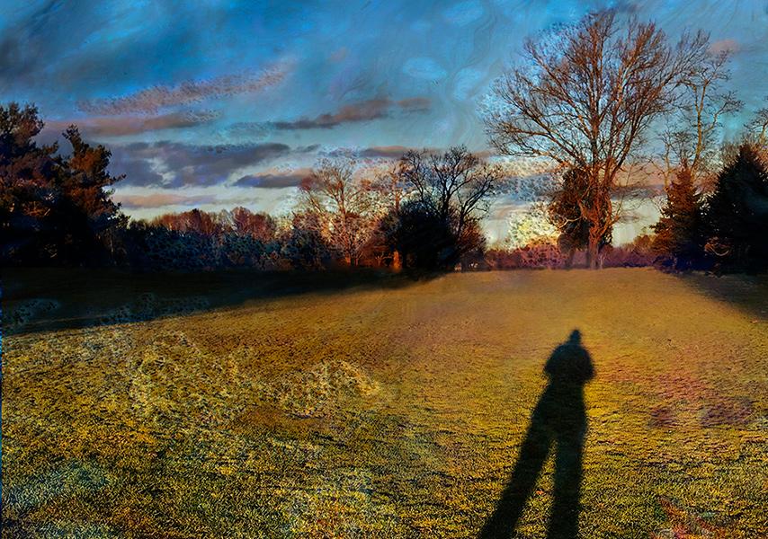 Ruth Clegg, A Walk in the Park (detail)