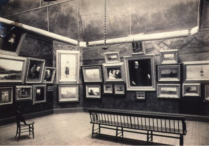 The Providence Art Club, Maxwell Mays Gallery 1880s